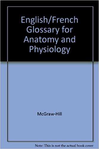 Buy English/french Glossary for Anatomy And Physiology Book Online ...