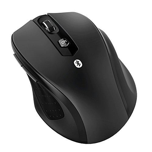 JETech M0884 Bluetooth Drahtlose Kabellose Maus für PC, Mac und Android OS Tablet mit 12 Monate Batterielebensdauer - 0884