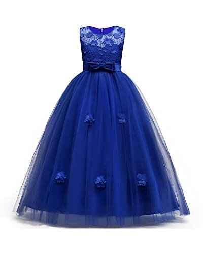 Osinnme Toddler/Little/Big Girls Wedding Graduation Dresses