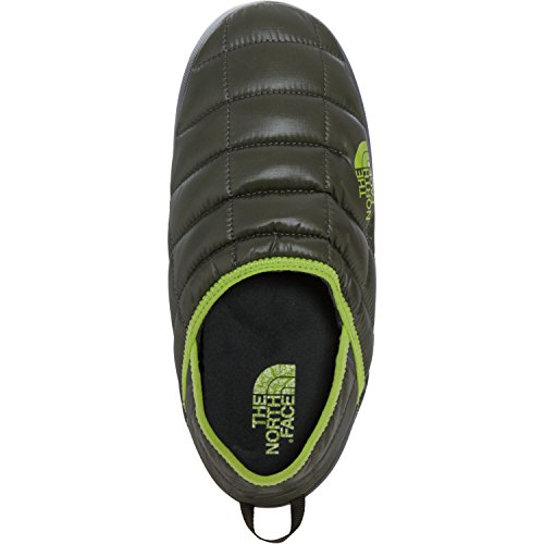 North Face Thermoball Traction Mule II Slippers UK 13 Shiny Climbing Ivy Green Lime Green