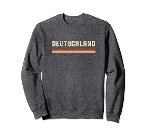 Vintage Deutschland / Germany National Flag Sweatshirt