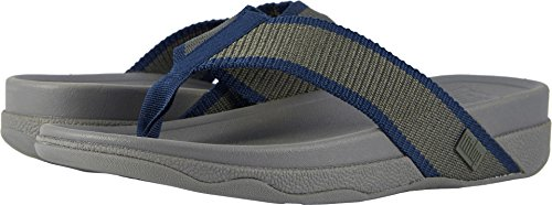 Fitflop Mens Surfer Sandaal Camouflage Groen / Midnight Navy