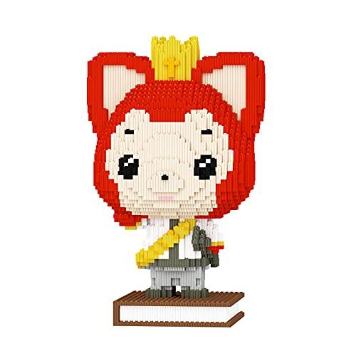 XINZ Ali Fox Mini Building Blocks Pet Building Micro Toy Bricks,3012 Pieces(Ali Fox-Big)