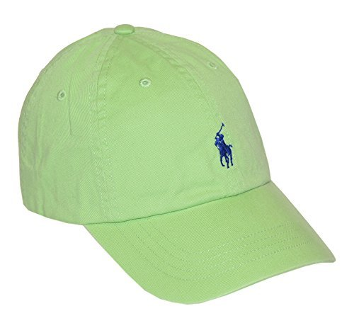 - Polo Ralph Lauren Men Pony Logo Adjustable Sport Hat Cap (One size , Light green)