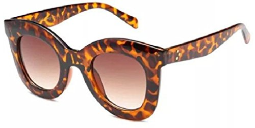 Tortoise Brown Frame (WebDeals - Oversize Square Cateye Retro Fashion Sunglasses (Tortoise, Brown Gradient)…)