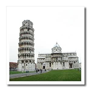 ht_1138_3 Vacation Spots - Tower Of Pisa Italy - Iron on Heat Transfers - 10x10 Iron on Heat Transfer for White Material