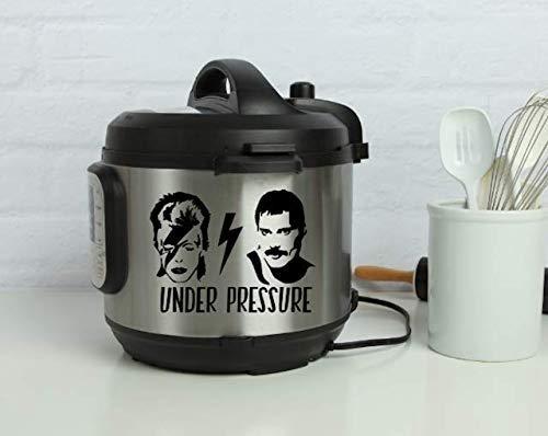 David Bowie & Freddie Mercury Under Pressure Instant Pot Decal ()