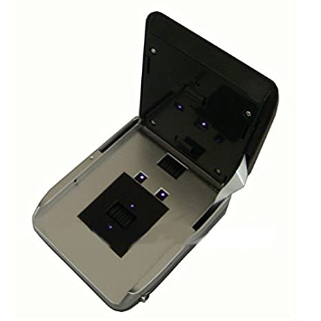 Detector billetes falsos portátil, Yatek SE-0701B actualizable, y batería, admite nuevos billetes de 20€: Amazon.es: Electrónica
