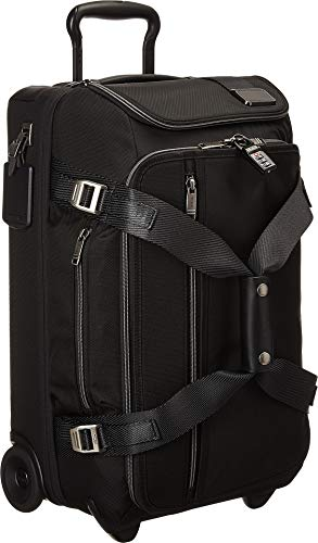 Tumi Merge Wheeled Duffel Carry-on Carry-On Luggage, Black Contrast