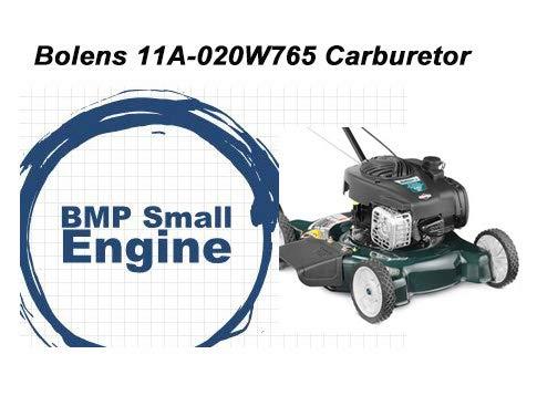 (BMotorParts Carburetor Carb Assembly for Bolens Walk Behind Mower Model# 11A-020W765)