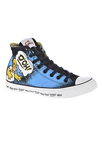Chuck Taylor All Star Simpson Hi blue Schwarz Blau Gelb