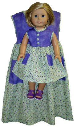 Matching B0102JM8ZI Purple Calico Size Dresses Girls Dolls Calico Size 3 B0102JM8ZI, ビーラッシュストア:4a8fa354 --- arvoreazul.com.br