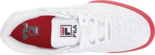 Fila Originale Fitness Logo Sneakers (wh Nv Rd) Mænds Sportssko Hvid / Ildrøde / Aruba Blå BhJyQ