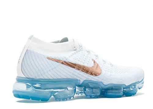 Nike Air Vapormax Flyknit - Womens Womens 849.557-104 Bianco
