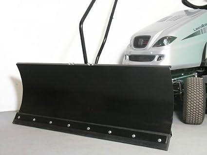 MTD RC 125 pala quitanieves, 118 x 50 cm, para césped Trak puertas ID