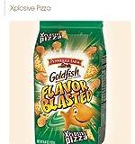 Pepperidge Farm, Goldfish, Flavor Blasted, XPlosive Pizza, 6.6oz Bag (Pack of 4)
