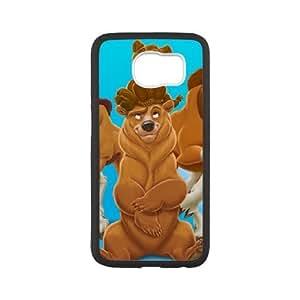 Samsung Galaxy S6 Cell Phone Black Brother Bear WON6189218020193