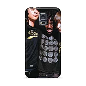SherriFakhry Samsung Galaxy S5 Shock-Absorbing Hard Phone Covers Provide Private Custom HD Bloc Party Band Skin [UWR15731mwwP]