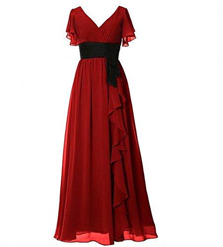 Beauty Beauty burgunderfarben burgunderfarben KA Kleid Kleid KA Damen Damen Damen burgunderfarben KA Beauty Kleid Yw8qHSn4