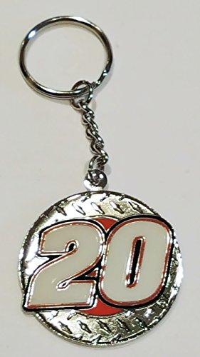 (Winner's Circle NASCAR Metal Keychain (Tony Stewart #20))