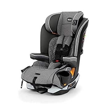 Image of Baby Chicco MyFit Zip Harness + Booster Car Seat - Granite, Grey