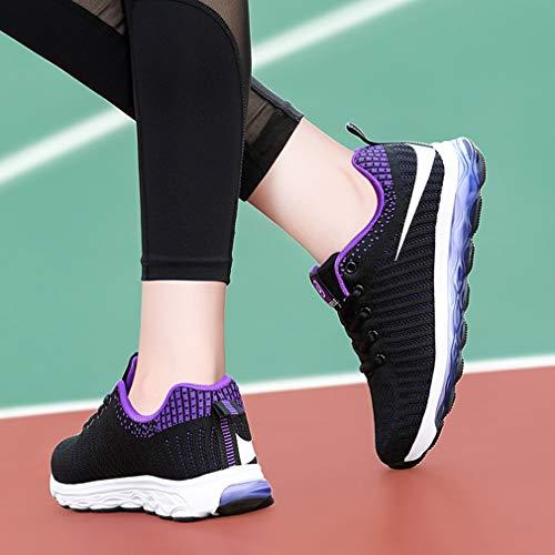 Yan Atletiche Antiscivolo Scarpe Sportive Ginnastica Jogging Fitness B Corsa Casual Shock Da Absorbing Donna 77Xqrw