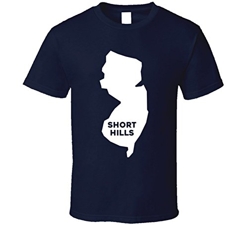 Short Hills New Jersey Custom City Patriotic USA Map T Shirt S - New Short Jersey Hill