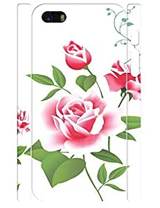 3D Print Fashion Rose Flower Design Durable Cell Phone Back Case For Iphone 6 4.7 Cover