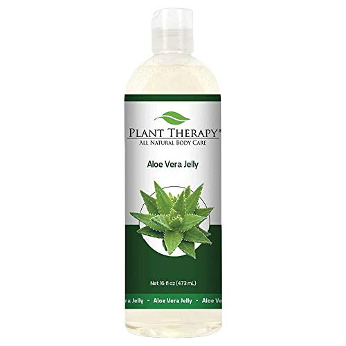 Plant Therapy Aloe Vera Jelly 16 oz, All Natural, Unscented Base
