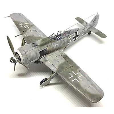 Airfix Focke-Wulf Fw190A-8 1:72 WWII Military Aviation Plastic Model Kit A01020A: Toys & Games