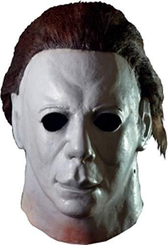 Loftus International Trick or Treat Studios Halloween II Hospital Full Head Mask Grey One-Size Novelty ()