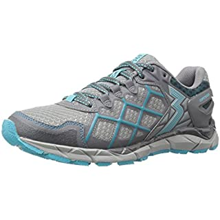 361° Women's Ortega-W Trail Runner, Grey/Peacock Blue On Running Shoes Review