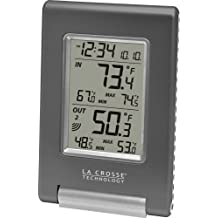 La Crosse Technology WS-9080U-IT Wireless In/Out Temperature Station Featuring Atomic Self-Setting Time and Minimum/Maximum Records
