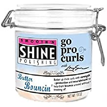 Smooth N Shine Go Pro Curl Cream, Butter Bouncin, 14 Ounce by Smooth N Shine