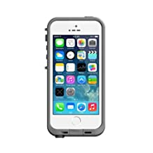 VersionTech 6.6 ft Underwater Waterproof Shockproof SnowProof DirtProof Durable Full Sealed Protection Case Cover Shell for iPhone 5 with Retail Packaging(White)