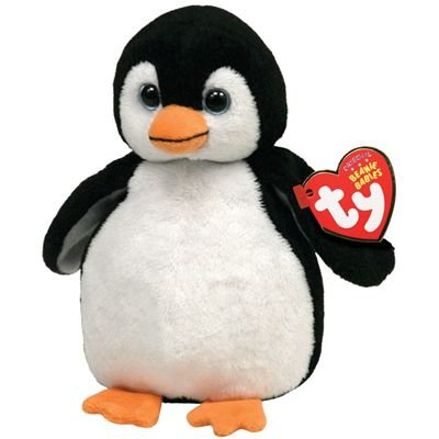 Ty Beanie Babies 2.0 Chill Black Penguin (Sparkly)