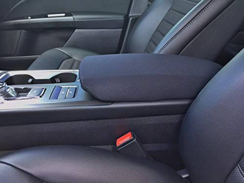 Auto Console Covers- Compatible with The Ford Fusion 2017-2019 Center Console Armrest Cover Waterproof Neoprene Fabric (Black)
