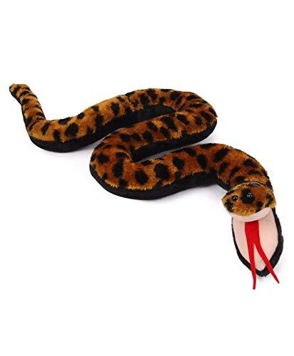 Tickles Brown Crawling Snake Stuffed Soft Plush Toy 55 Cm