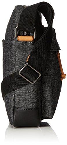 Fossil Herren Defender Business Tasche, Grau (Grey), 29x8.6x24 cm