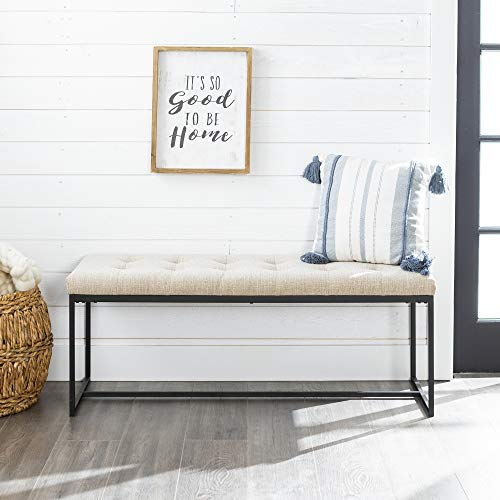 WE Furniture AZ48UPMBTA Entry Bench ()