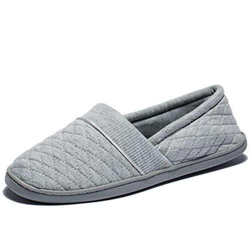 Anti Memory Home Foam Slip KENSBUY Grey2 Insole Slip Soft Shoes House on Women's Cotton Slippers q00Ytf