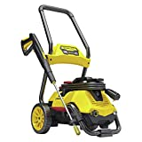 Stanley SLP2050 2-in-1 Electric Pressure Washer Mobile Cart or Detach Portable Use with Detergent Tank, Medium/2050 psi, Yellow