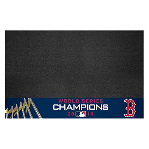 (MLB Boston Red Sox Grill Matgrill Mat, Navy, 26