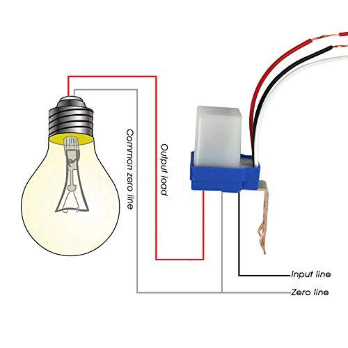 AC DC 12V 10A Auto on Off Photocell Light Switch Photoswitch Light Selcon Photocell Wiring Diagram on photocell wiring guide, photocell lights, photocell switch, photocell sensor, circuit diagram, lighting contactor diagram, photocell wiring directions, photocell wiring problem, photocell installation, photocell schematic, photocell control diagram, simple photocell diagram,