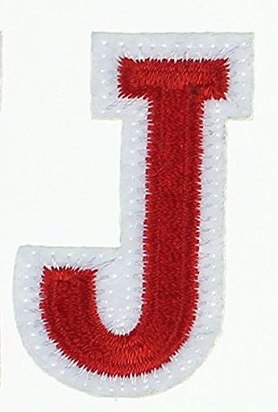 RECHERE 26 letras mayúsculas bordado hierro en parche apliques ...