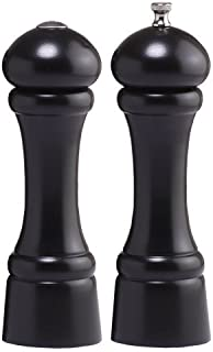 product image for Chef Specialties 8 Inch Windsor Pepper Mill and Salt Shaker Set - Ebony