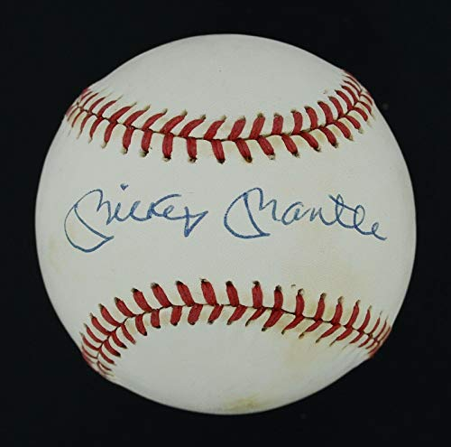 Signed Mickey Mantle Ball - 1990s OAL LOA #BB03691 - JSA Certified - Autographed ()