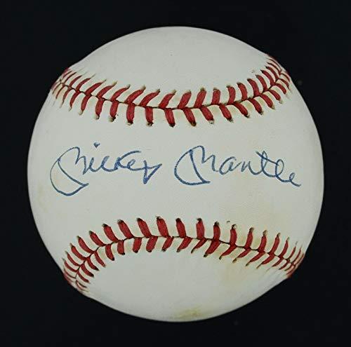 Signed Mickey Mantle Ball - 1990s OAL LOA #BB03691 - JSA Certified - Autographed - Oal Baseball Ball