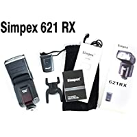 Simpex 621RX flash universal with free flash carrying pouch and USB LED light