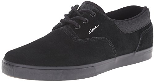 C1RCA Men's Valeo SE Skateboard Shoe, Black/Moon Struck, 12 M US